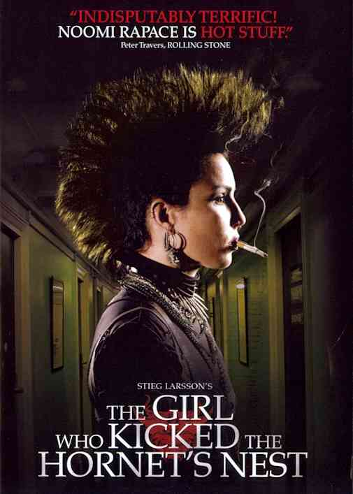 GIRL WHO KICKED THE HORNET'S NEST BY RAPACE,NOOMI (DVD)